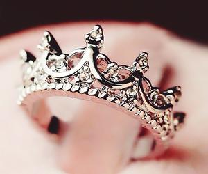 crown, girl, and fashion image