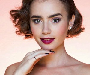 wow and lily collins image