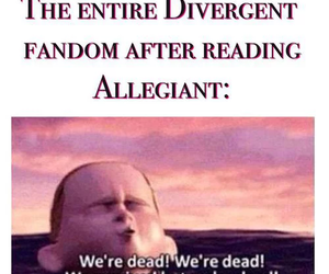 insurgent, divergent, and veronica roth image