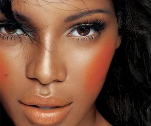 makeup, beautiful, and model image