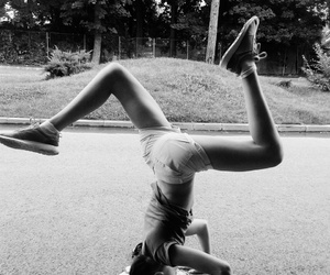 headstand and loveyourbody image