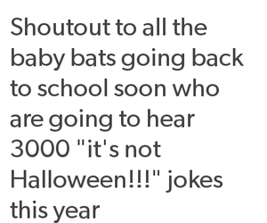 baby bats, goth, and gothic image
