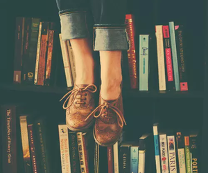 books, life, and shoes image