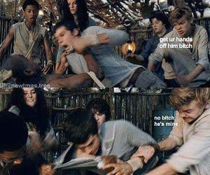 newt, thomas brodie sangster, and dylan o'brien image