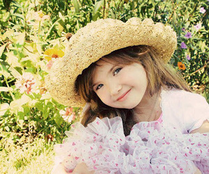 flowers, hat, and cute image