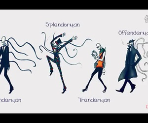 slenderman, creepypasta, and splendorman image
