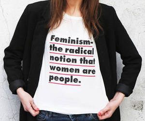 feminism, people, and shop image