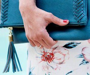 bag, nails, and summer image