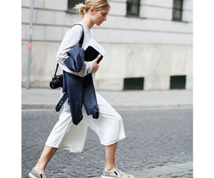 culottes, fashion, and street style image