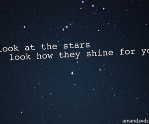 coldplay, yellow, and stars image