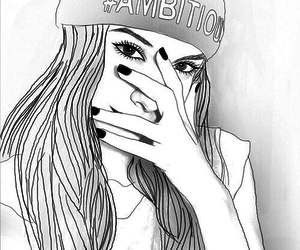 ambition, drawing, and hat image