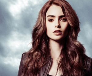 city of bones, lily collins, and clary image