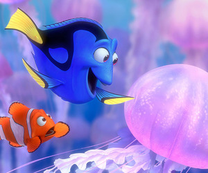 finding nemo, disney, and nemo image