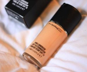 mac, makeup, and Foundation image