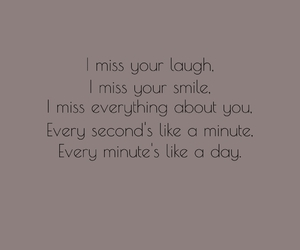 i miss you, laugh, and smile image