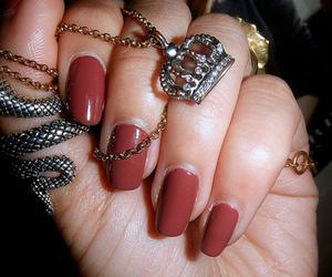 hand, nails, and nail polish image