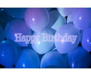 baloon, baloons, and birthday image