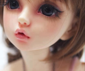 doll, beauty, and toys image