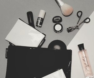 bag, fashion, and make up image