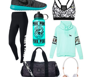 motivation, nike, and outfit image