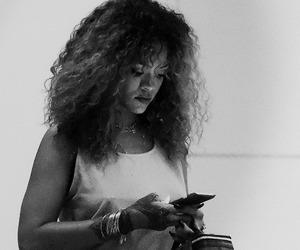 rihanna, girl, and hair image