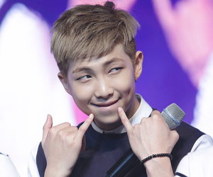 bts, rap monster, and Hot image