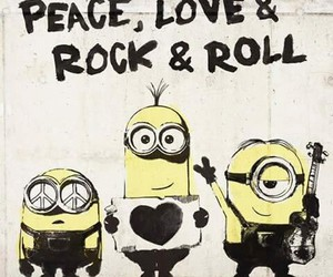 draw, minions, and love image