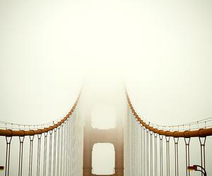 bridge, fog, and photo image