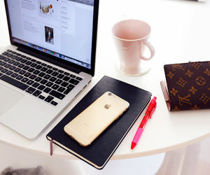coffee, desktop, and fashion image