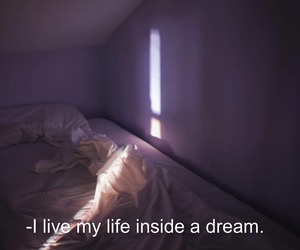bed, dark, and Dream image