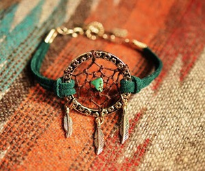 bracelet, fashion, and dreamcatcher image