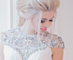 fashion, wedding, and hair image