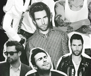 maroon5, adam, and handsome image