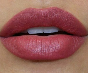 girl, lips, and look image