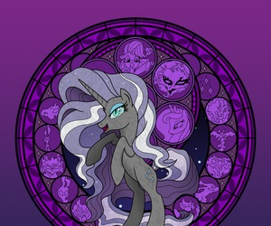 MLP, my little pony, and nightmare rarity image
