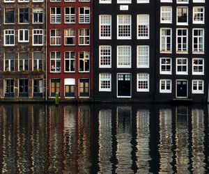 water and amsterdam image
