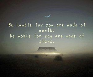 quote, earth, and humble image