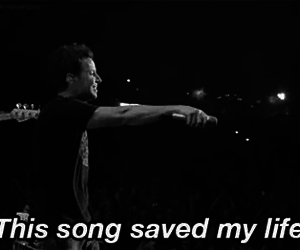 concert, pierre bouvier, and simple plan image