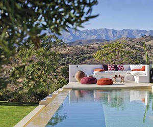 house, luxury, and mountains image