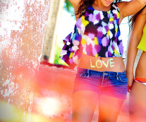 girl, love, and summer image