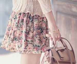 fashion, skirt, and vintage image