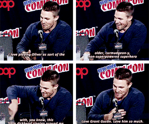 funny, quotes, and stephen amell image