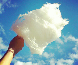 sky, clouds, and cotton candy image
