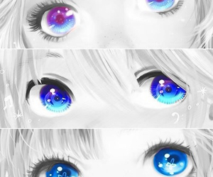 eyes, anime, and vocaloid image