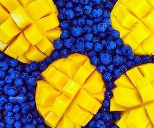 blueberries, mango, and delicious freshness image
