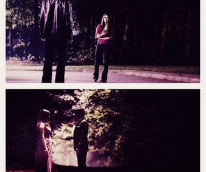 tvd, delena, and the vampire diaries image