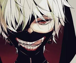 anime boy, tokyo ghoul, and kaneki ken image