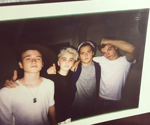 boys, polaroid, and vintaje image