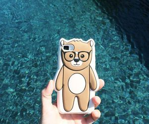 iphone, bear, and case image