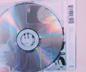 cd, grunge, and holographic image